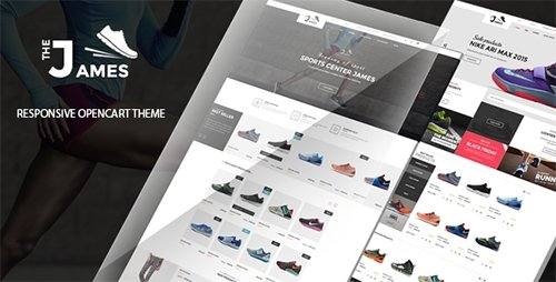 ThemeForest - James - Responsive Opencart Shoes Store Theme (Update: 1 October 16) - 16420694