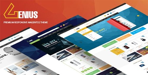 ThemeForest - Genius v1.1 - Multipurpose Responsive Magento 2 Theme - 17464310