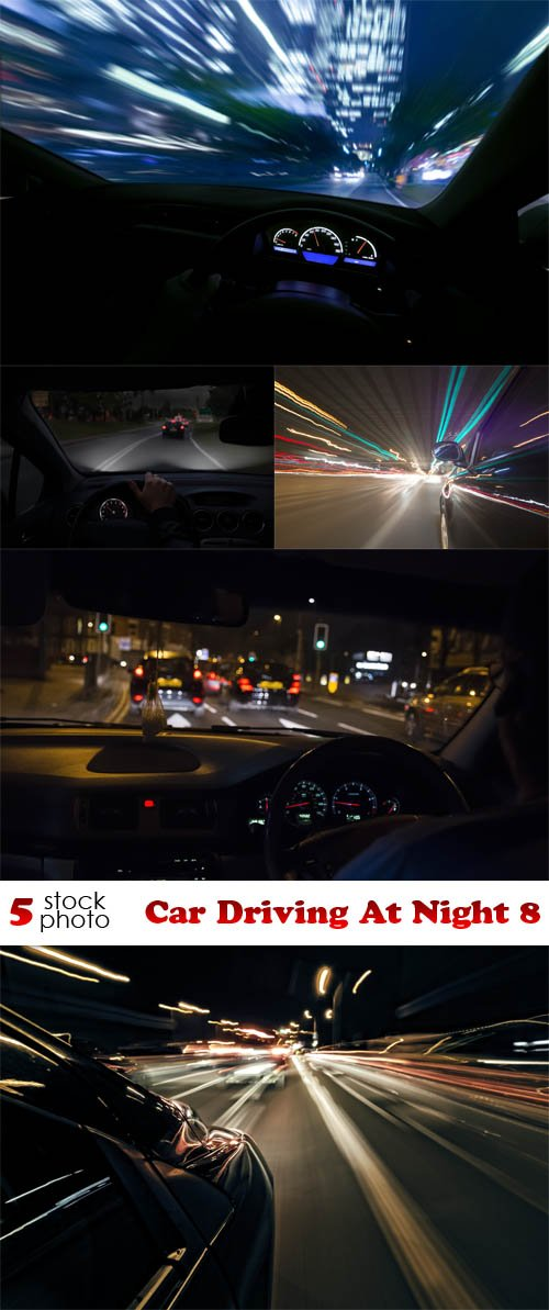 Photos - Car Driving At Night 8