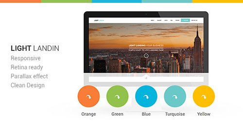 ThemeForest - Light Landin Multipurpose Parallax Landing Page (Update: 11 March 14) - 5969681