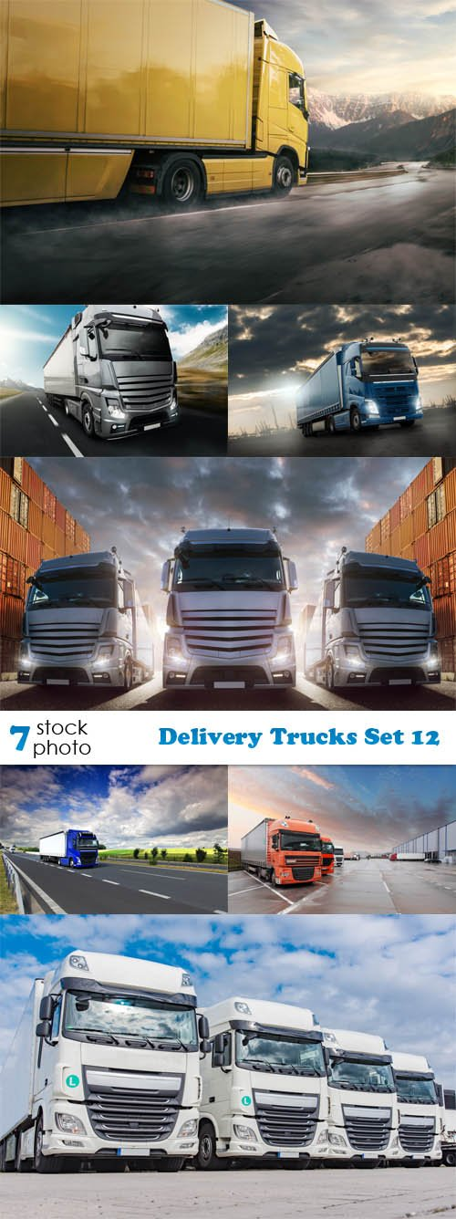 Photos - Delivery Trucks Set 12