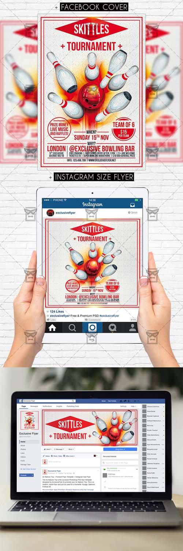 Flyer Template - Skittles Tournament