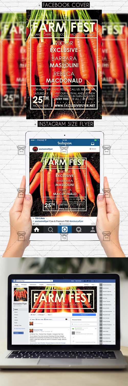 Flyer Template - Farm Fest