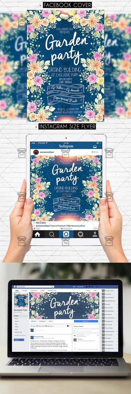 Flyer Template - Garden Party