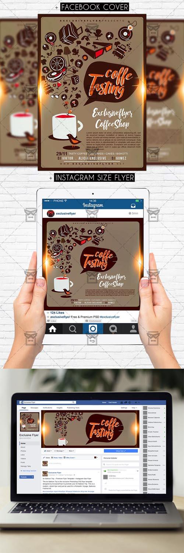 Flyer Template - Coffee Tasting