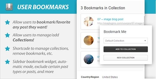 CodeCanyon - WordPress User Bookmarks (Standalone version) v3.0 - 6584179