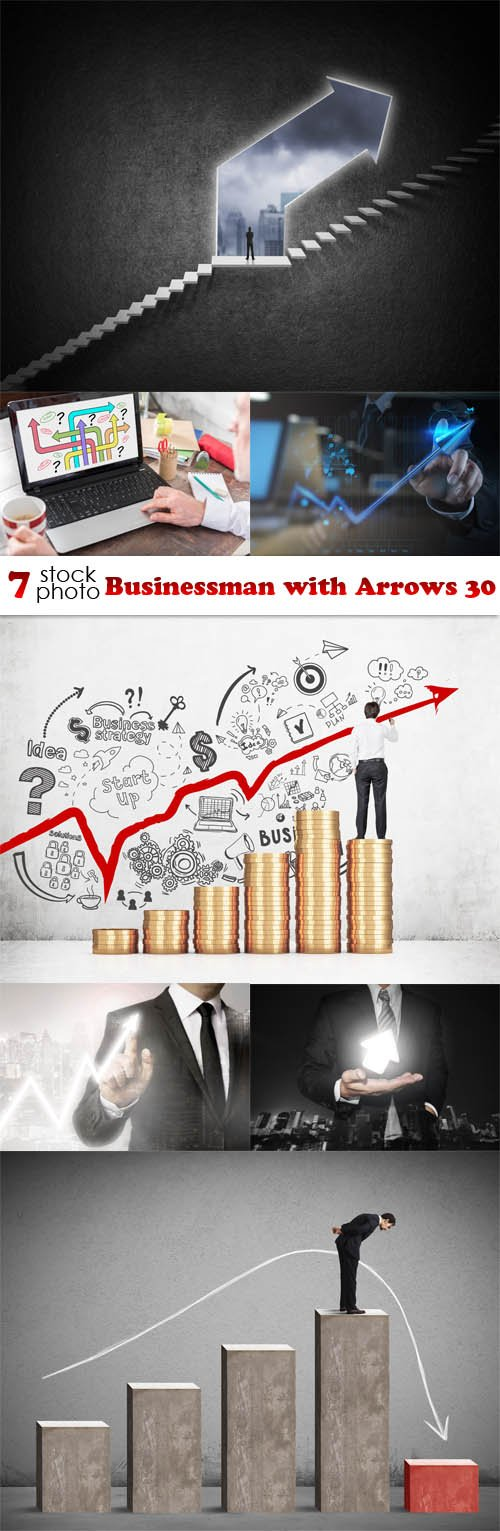Photos - Businessman with Arrows 30