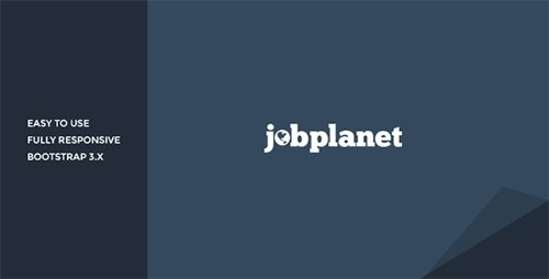 ThemeForest - Jobplanet v1.0 - Responsive Job Board HTML Template - 10630468