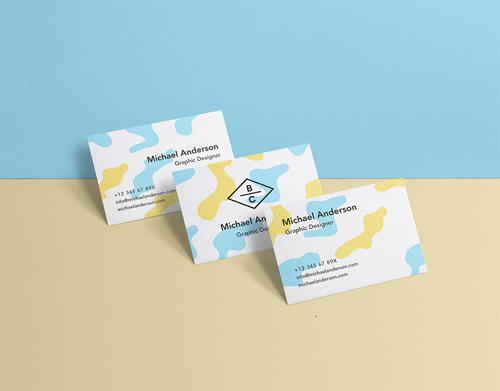 Business Card Mock-Up Vol 36