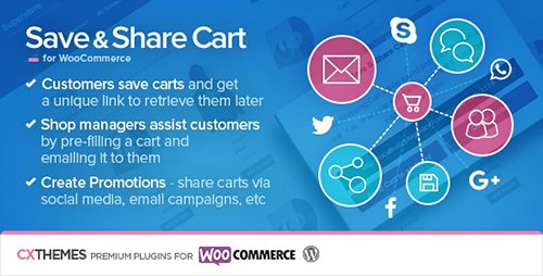 CodeCanyon - Save & Share Cart for WooCommerce v2.13 - 5568059