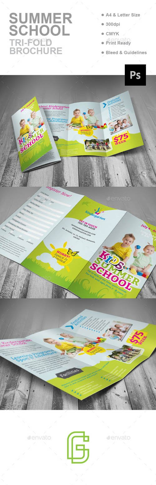 GR - Summer School Trifold Brochure 16997379