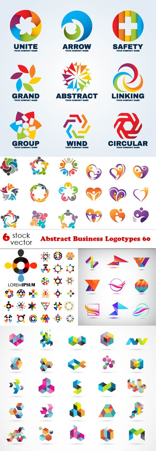 Vectors - Abstract Business Logotypes 60