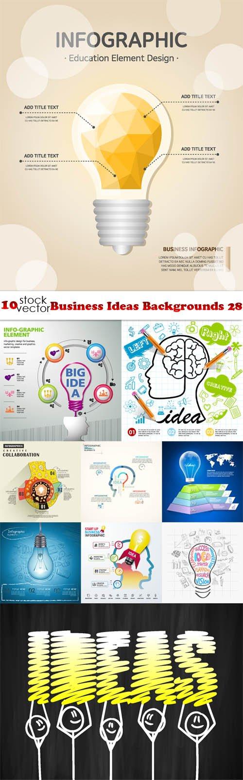 Vectors - Business Ideas Backgrounds 28
