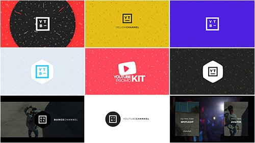 Youtube Promo Kit - Project for After Effects (Videohive)