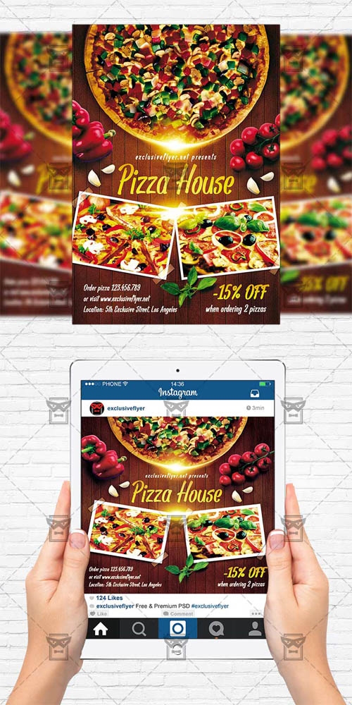 Flyer Template - Pizza House