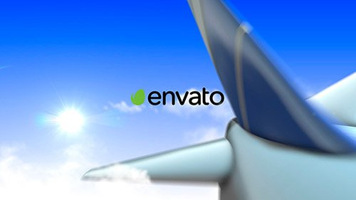 Airplane Logo - Project for After Effects (Videohive)