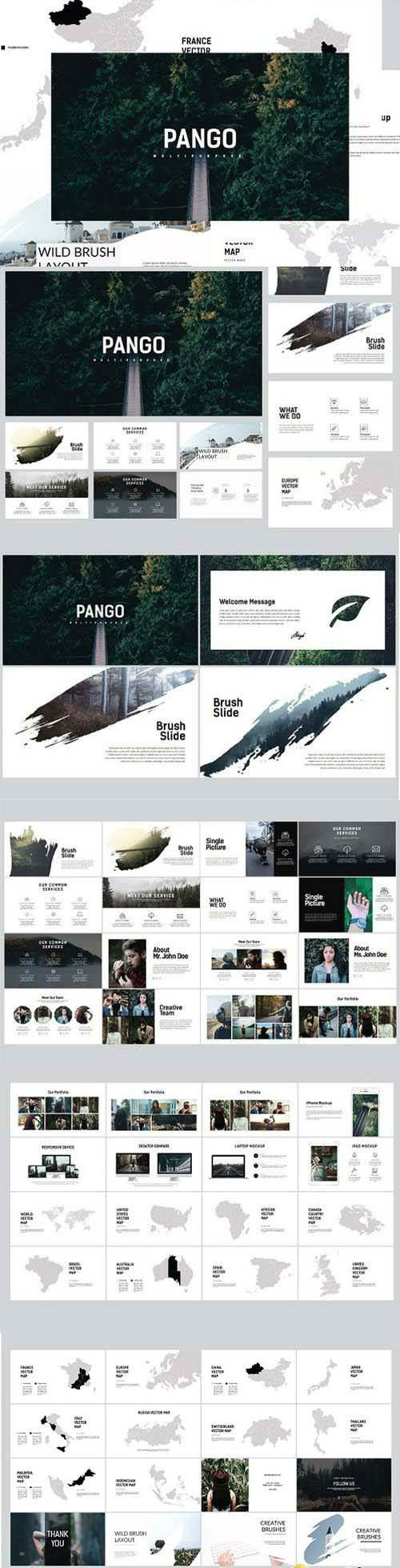 Pango Powerpoint Template 1258801
