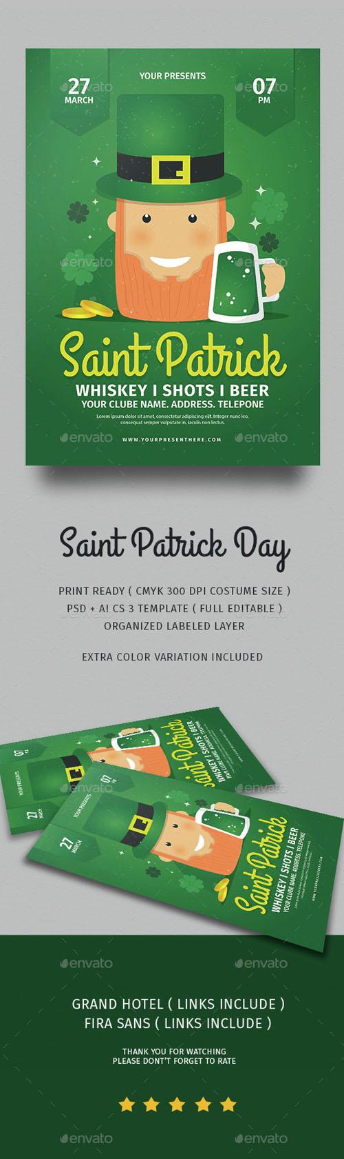 Saint Patrick Day 15087442