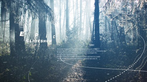 Epic Slideshow 19419015 - Project for After Effects (Videohive)