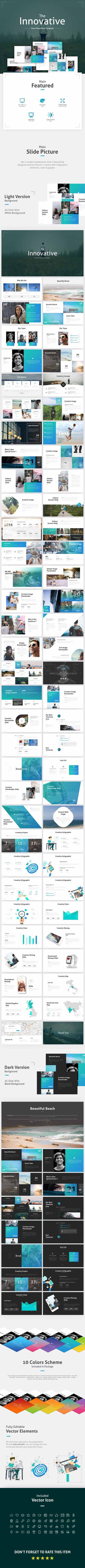 GR - The Innovative Clean PowerPoint Template 19237575