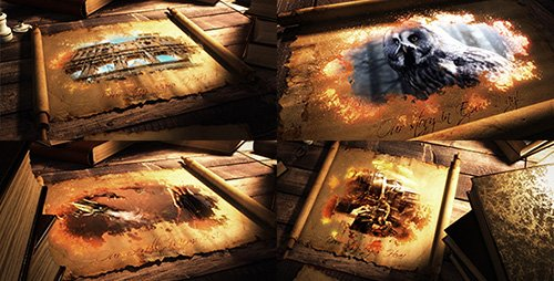 Epic Scroll Parchment - Project for After Effects (Videohive)