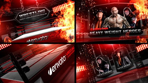 Wrestling Heavy Weight Champhionship - Project for After Effects (Videohive)