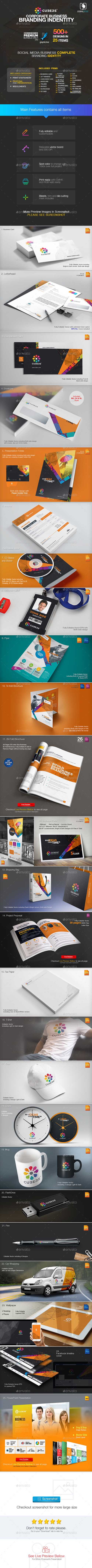 Business Branding Corporate Identity 19525180