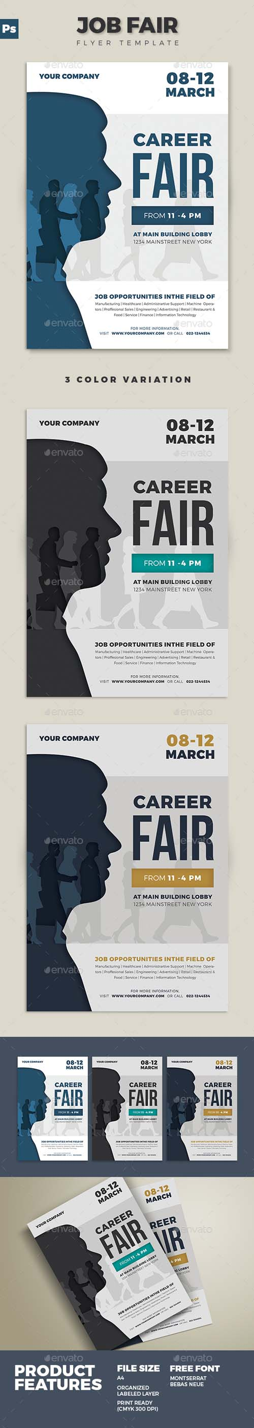 Job Fair Flyer 02 19531605