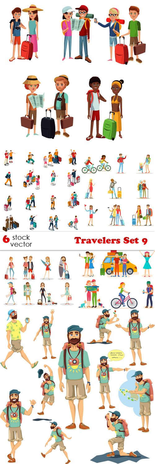 Vectors - Travelers Set 9