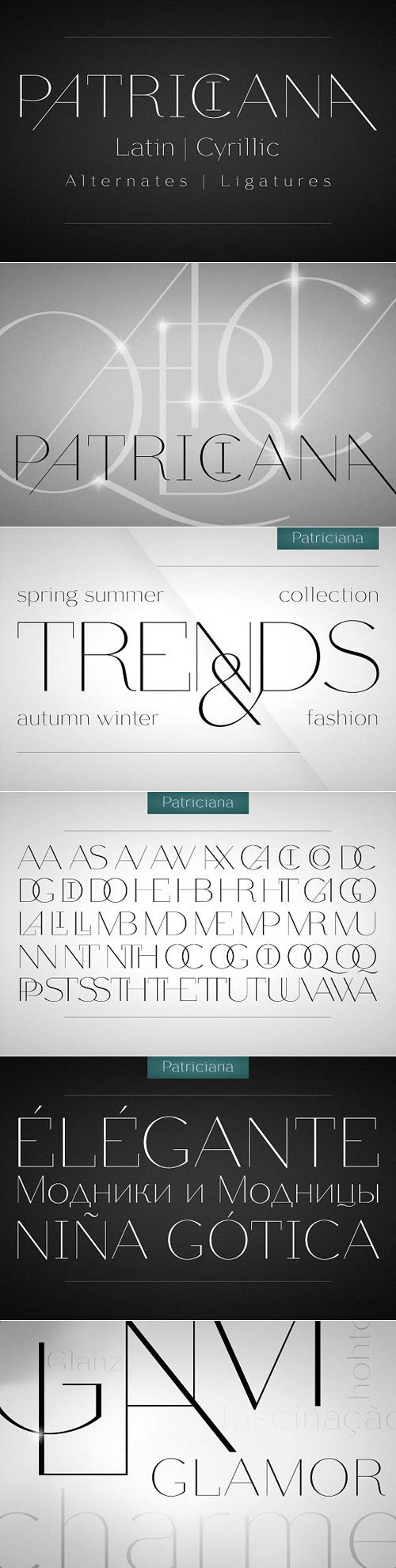 CM - Patriciana Font Display 1311299