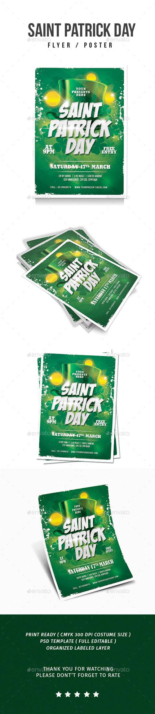 Saint Patrick Flyer 19489701
