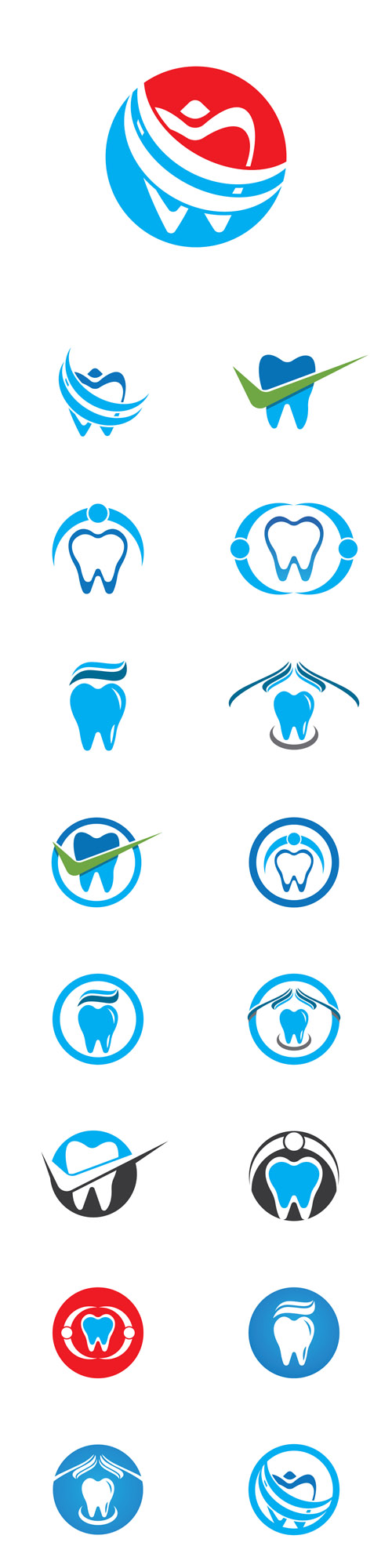 Vector Dental Logos