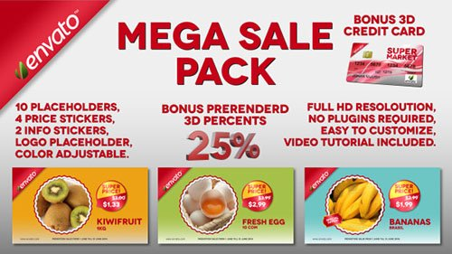 Mega Sale Pack - Project for After Effects (Videohive)