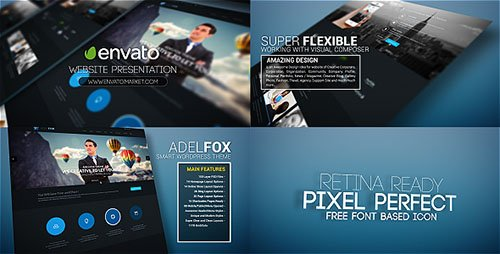 Website Promo Presentation - Project for After Effects (Videohive)