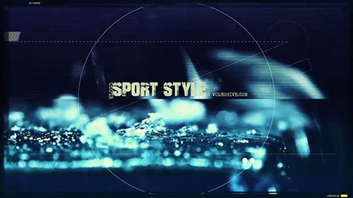 Sport Style Opener - Project for After Effects (Videohive)