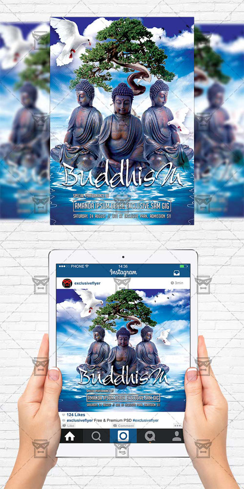 Flyer Template - Buddhism