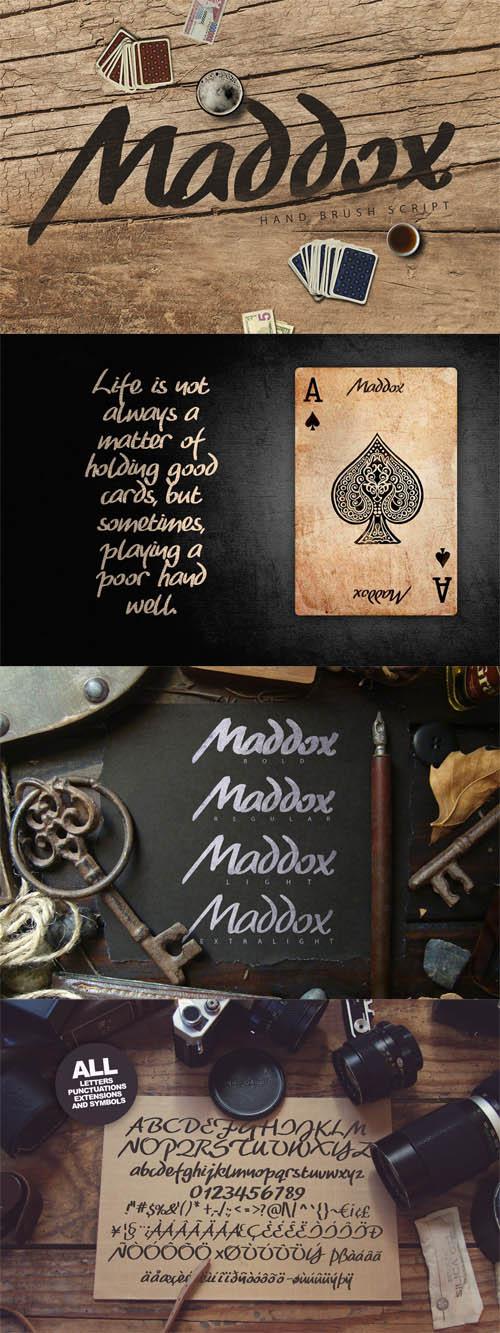 Madoxx Brush Typeface