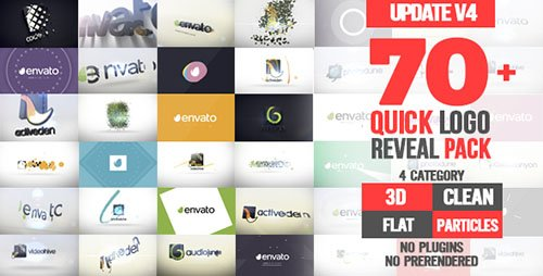 Quick Logo Reveal Pack V4 - Project for After Effects (Videohive)