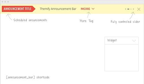Themify - Announcement Bar v1.2.4 - WordPress Plugin