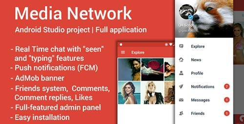 CodeCanyon - Media Network | Full Applications - 19062192