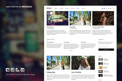 Solo v0.1 - Creatively for WordPress 1322630