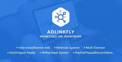 CodeCanyon - AdLinkFly v3.6.1 - Monetized URL Shortener - 16887109