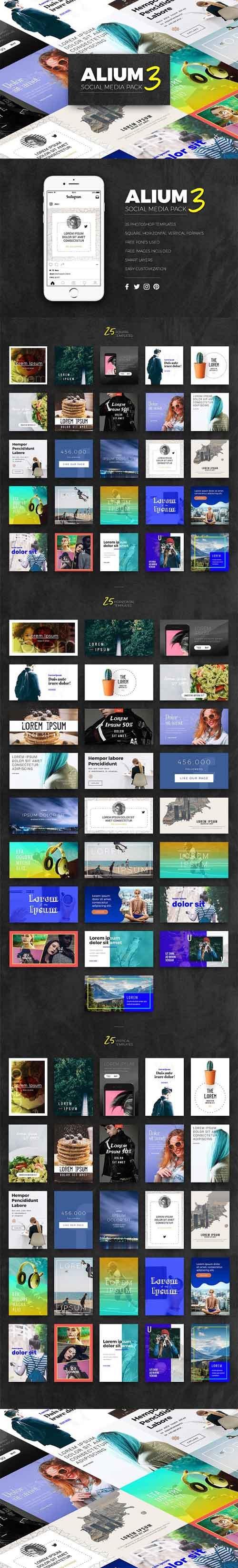 ALIUM 3 | Social Media Pack 1332545