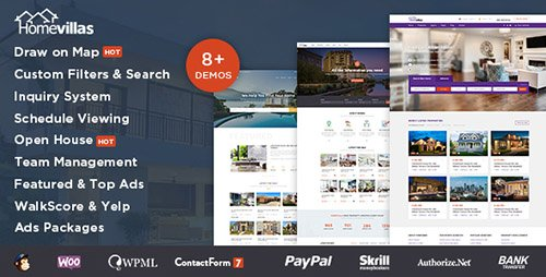 ThemeForest - Home Villas v1.2 - Real Estate WordPress Theme - 19446059