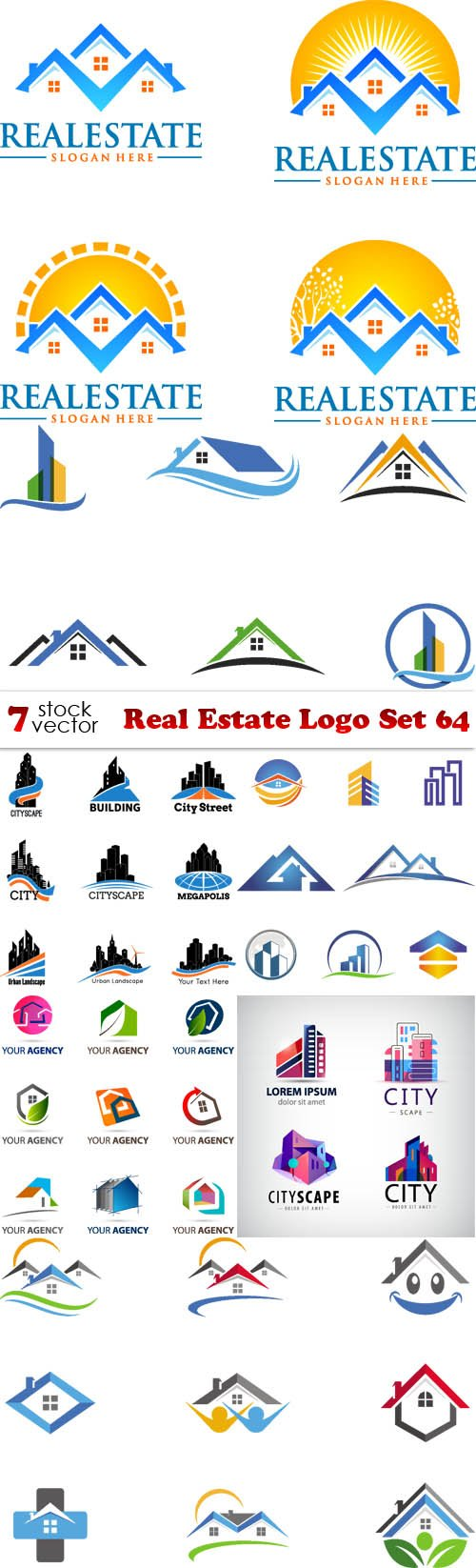 Vectors - Real Estate Logo Set 64