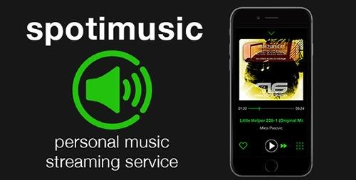 CodeCanyon - Spotimusic v1.2 - personal streaming music service - 17628499
