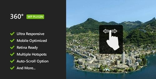 CodeCanyon - 360° Panoramic Viewer v1.1.4 - Responsive WordPress Plugin - 5054590