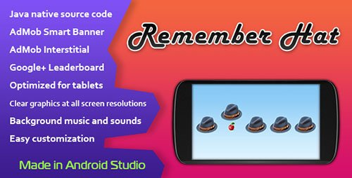 CodeCanyon - Remember Hat v1.0 - Game with AdMob and Leaderboard - 11364481