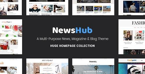 ThemeForest - Newshub v1.1 - A Multi-Purpose News, Magazine & Blog Theme - 17809471