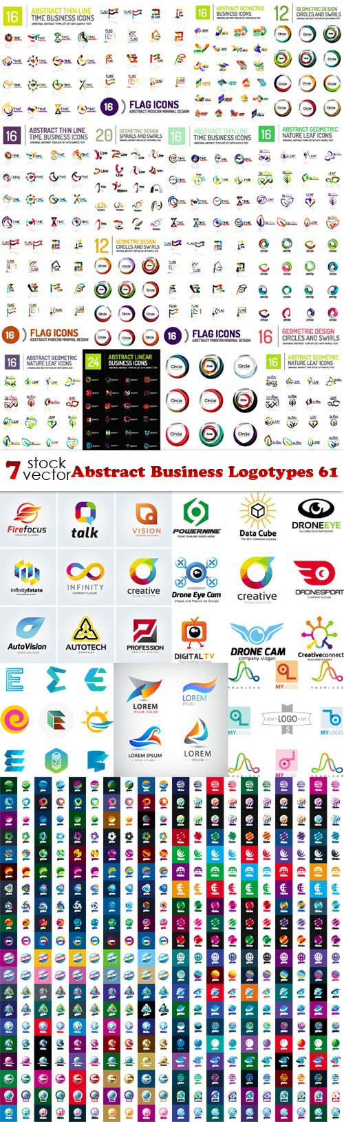 Vectors - Abstract Business Logotypes 61